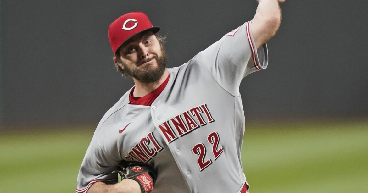 Cincinnati Reds' Wade Miley pitches fourth no-hitter of MLB season