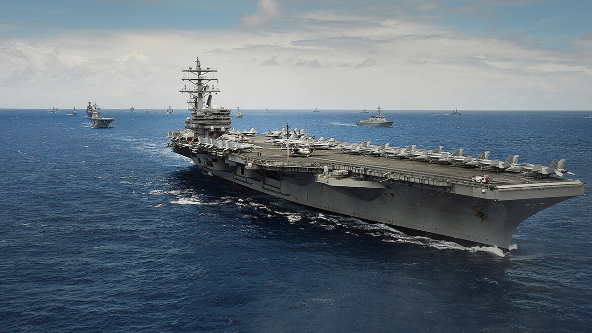 USS Ronald Reagan leaving Asia to help with Afghanistan troop withdrawal
