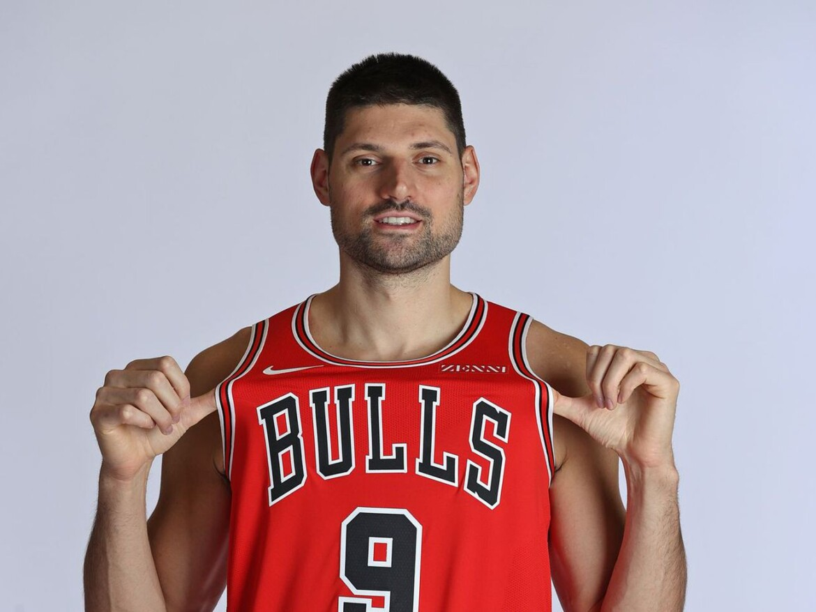 Bulls big man Nikola Vucevic is embracing his inner marksman talent