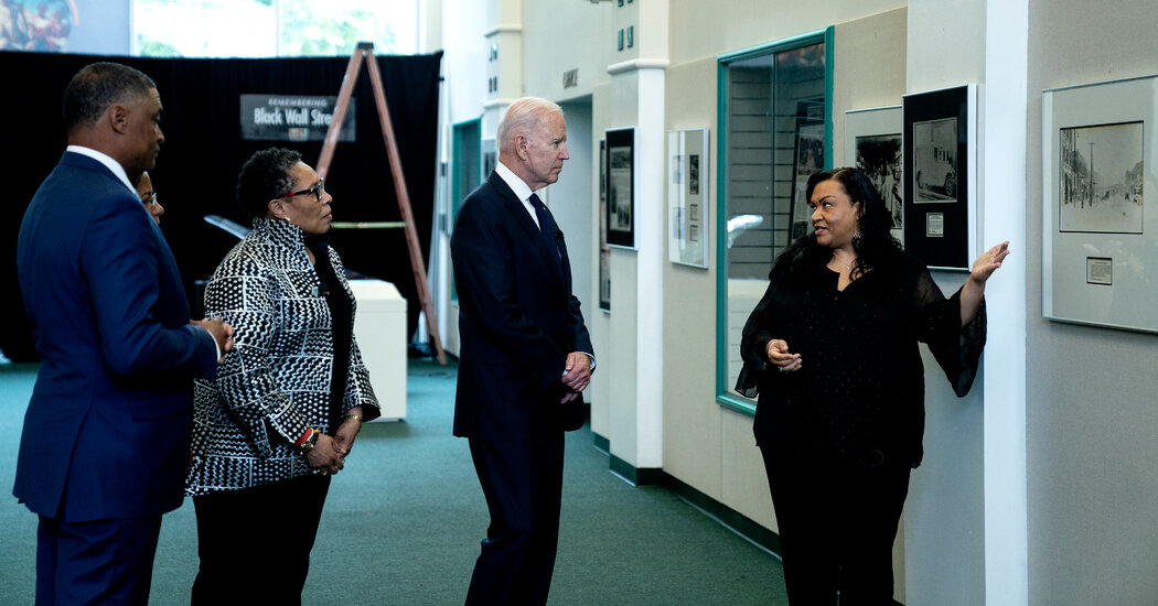 Biden Promises Tulsa Massacre Survivors Their Story Will Be 'Known in Full View'