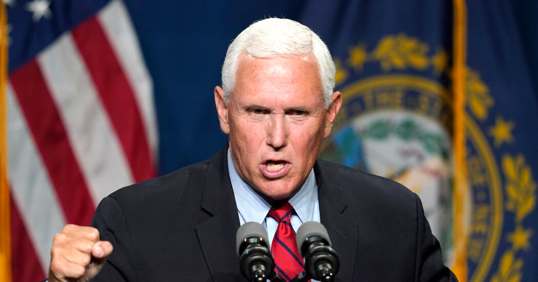 Pence Calls Systemic Racism A 'Left-Wing Myth'