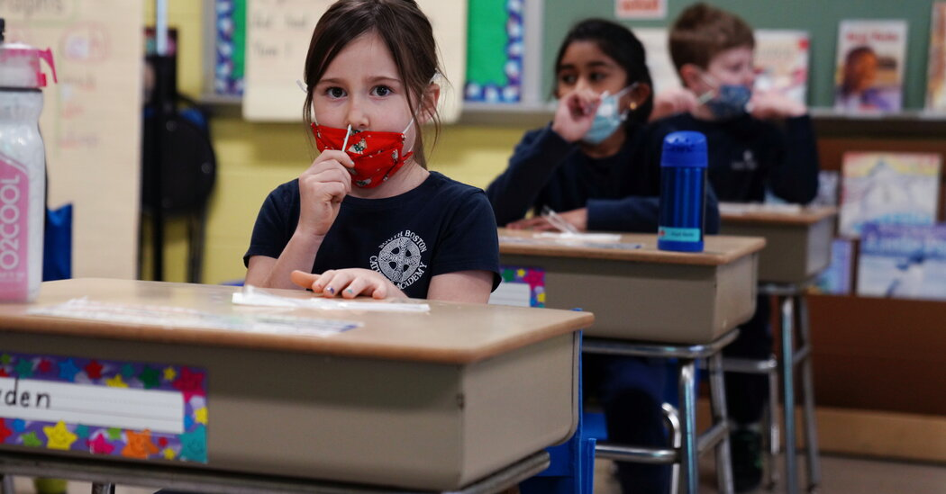 Vaccines and Improved Covid Tests Could Aid U.S. School Reopenings