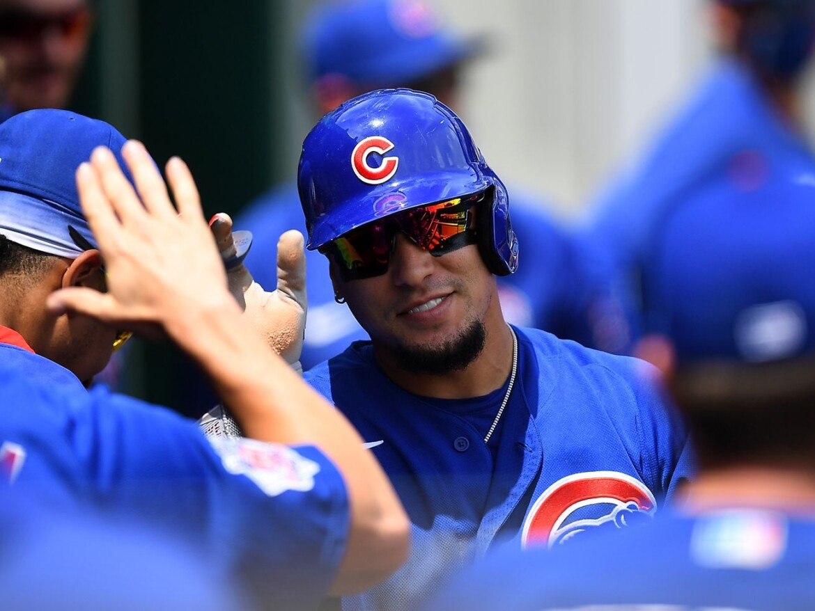 Javy Baez (thumb) out of Cubs' lineup against the Padres
