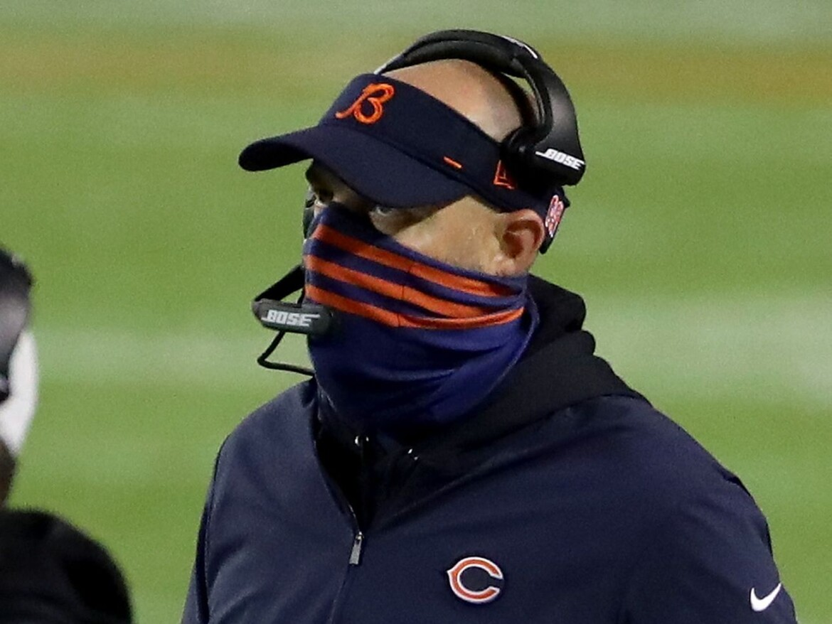 Maskless  Matt Nagy: It's 'different when you see people's expressions'