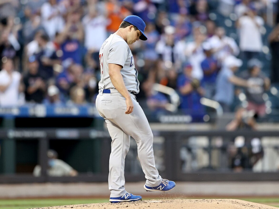 Cubs have rough night in New York after dropping third consecutive game, series to Mets