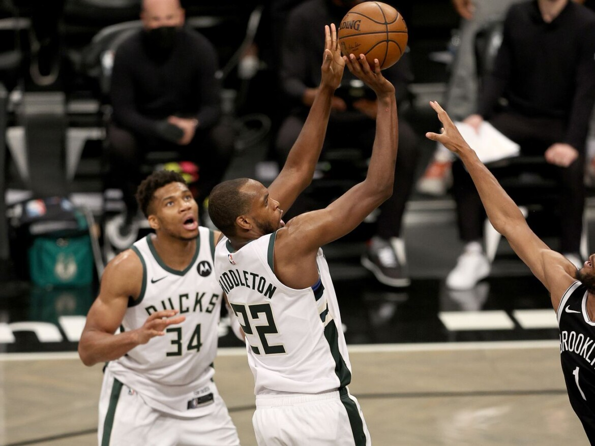 Bucks edge Nets in OT in Game 7, withstand Kevin Durant's 48 points