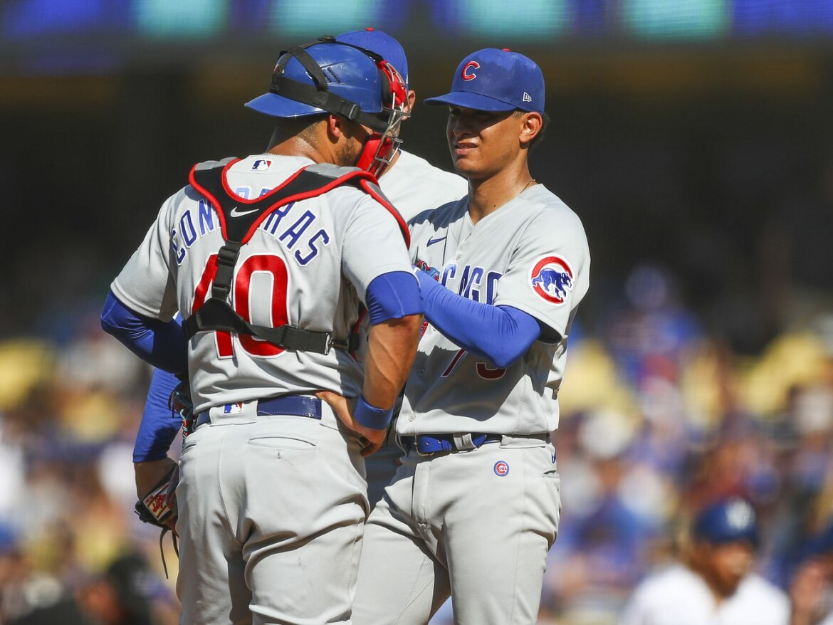 Adbert Alzolay has second inning to forget as Cubs lose to the Dodgers