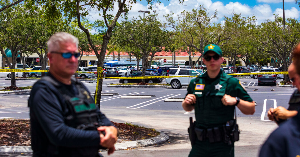 Gunman in Florida Publix Shooting Did Not Know Victims, Sheriff Says