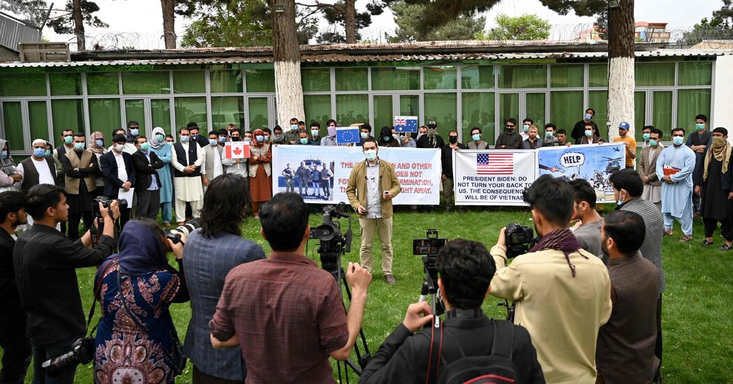 Congress Rushes to Help Afghans Seeking Visas for Helping U.S.