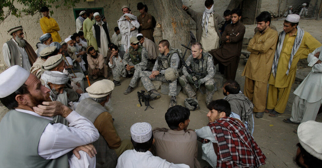 U.S. to Move Afghans Who Aided Troops to Third Countries