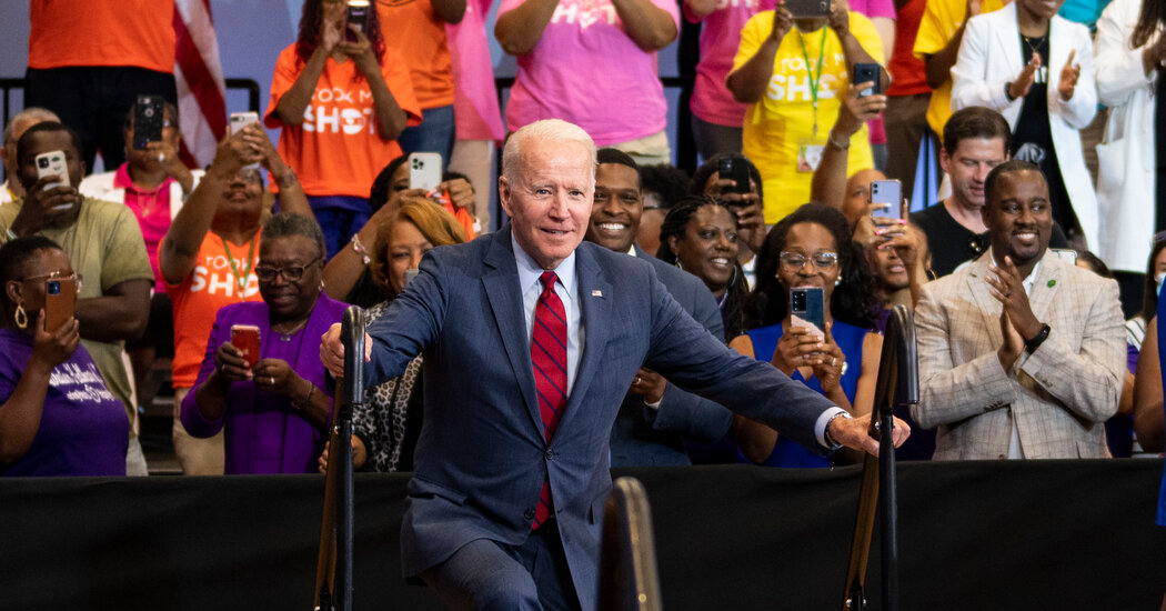 As the Pace of Vaccinations Slows, Biden Makes a Personal Appeal