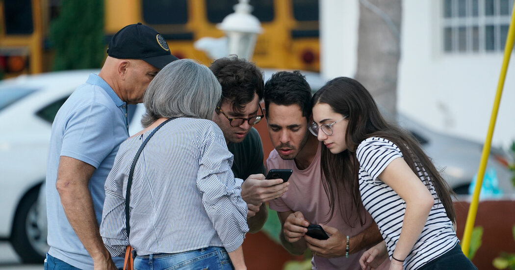 In Search of Survivors, Loved Ones Reach Out on Social Media