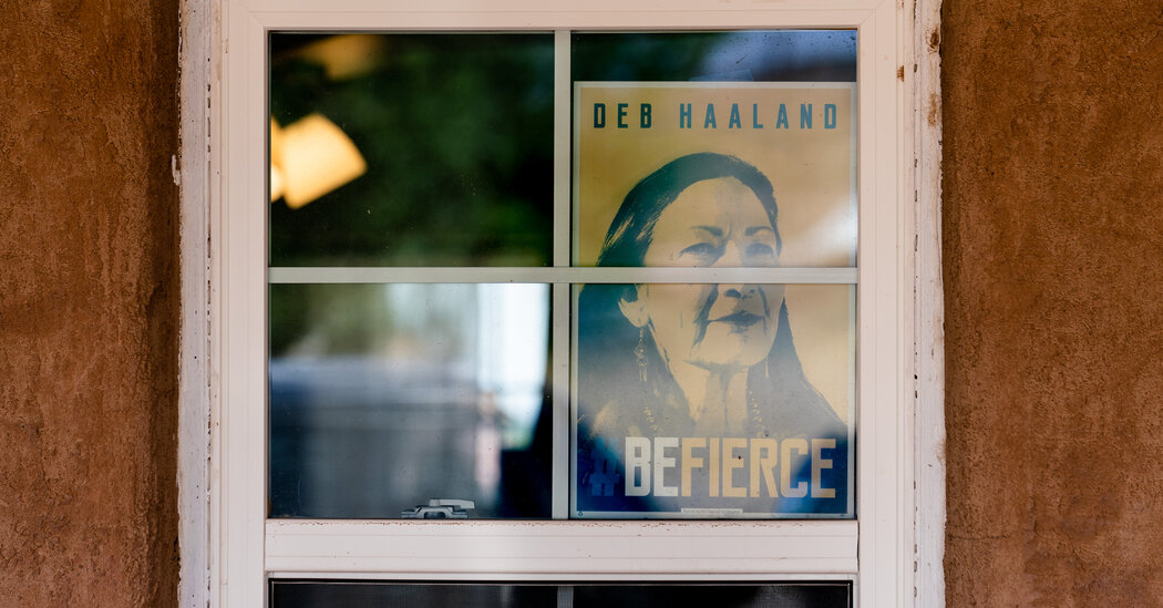 The Promise and Pressures of Deb Haaland, the First Native American Cabinet Secretary