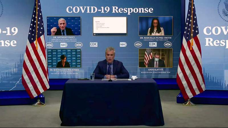 WATCH LIVE: White House COVID-19 Response Team provides latest updates