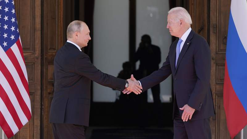 Biden, Putin set 'consultations' on updating nuclear pact