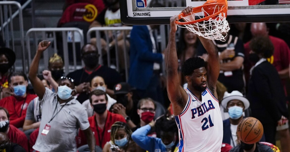 NBA playoffs: Joel Embiid powers 76ers past Hawks for a 2-1 series lead