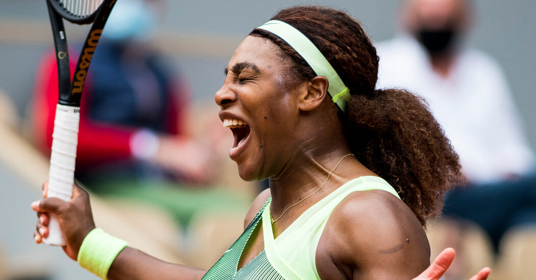 At the French Open, Serena Williams Moves to the Fourth Round