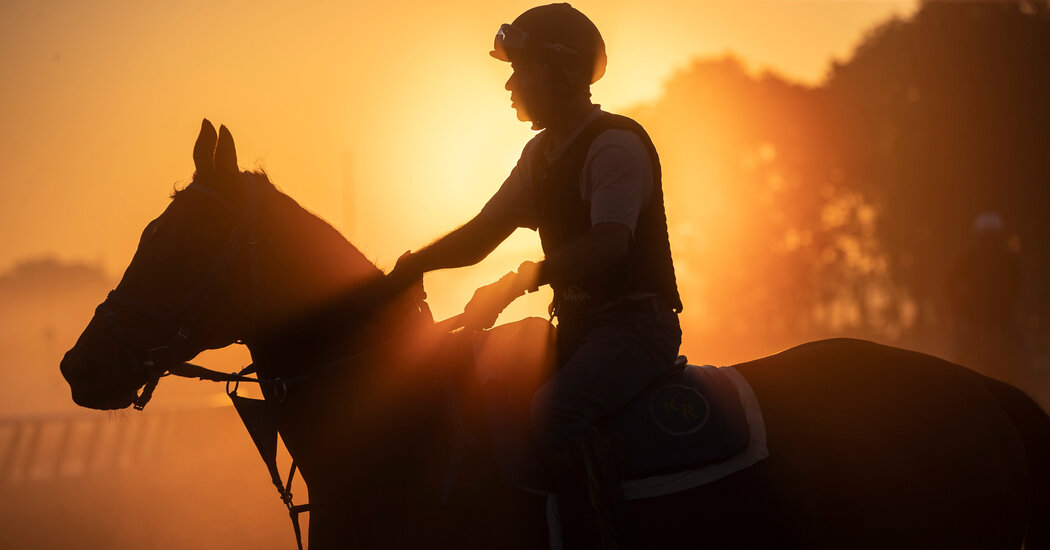 Live Updates: Photos from the Belmont Stakes