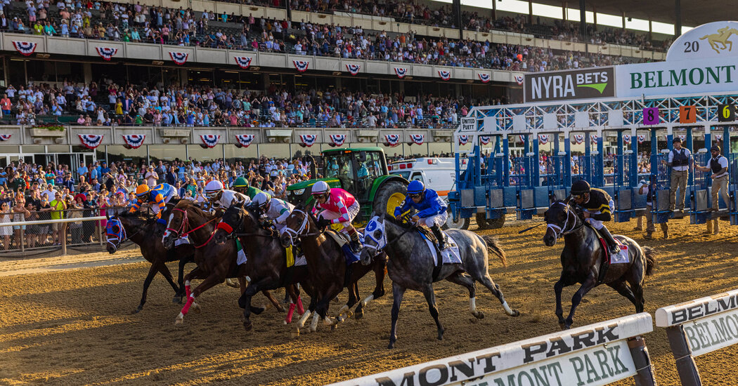 Photos from the Belmont Stakes