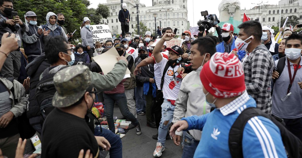 Left and Right Clash in Peru Election, With an Economic Model at Stake