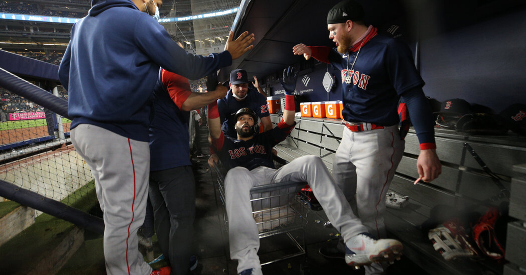 Gonzalez and Bogaerts Power Red Sox to Sweep of Yankees