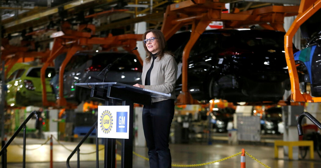 GM Tells White House It Agrees to Tighter Emissions Rules