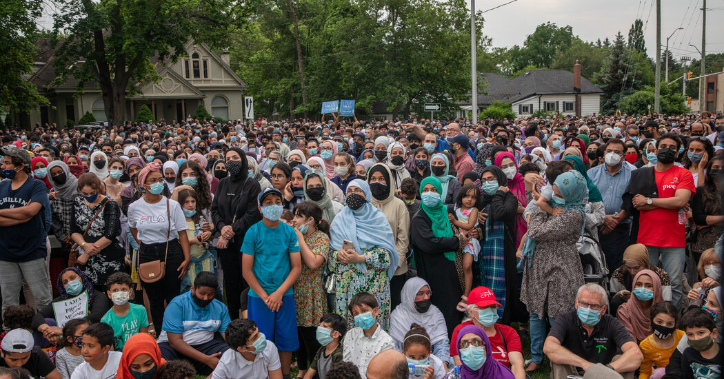 Thousands Mourn Muslim Family Killed in Canada Vehicle Attack