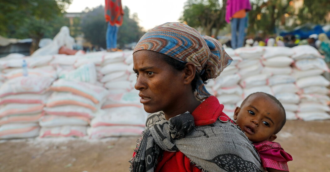 Famine Hits 350,000 Ethiopians, Worst for Any Country in a Decade