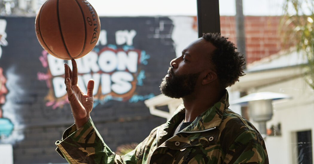 Baron Davis Directs Now. If There's a 'Space Jam 3,' He Wants In.