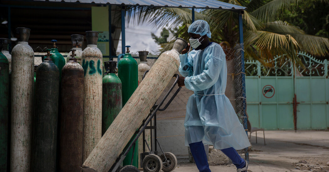 Without Vaccine, Haiti Struggles to Contain Covid Wave