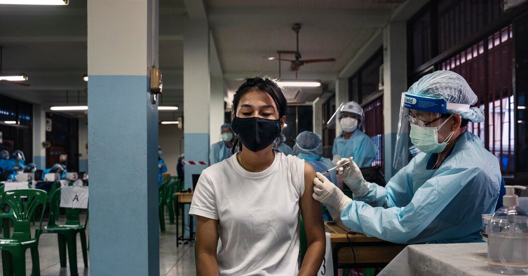 Mass Vaccination Campaign in Thailand Stumbles, Just as Cases Surge