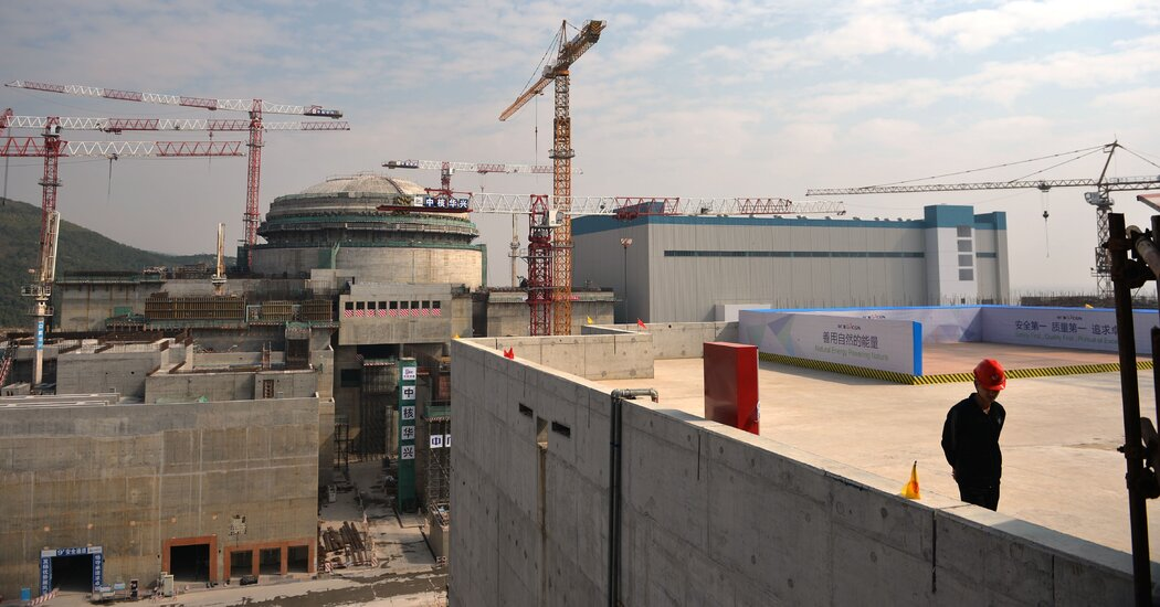 French Companies Cite Issues at Nuclear Power Plant in China