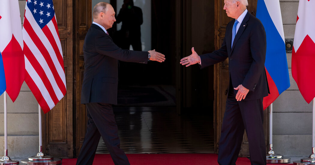 Biden and Putin Express Desire for Better Relations at Summit Shaped by Disputes