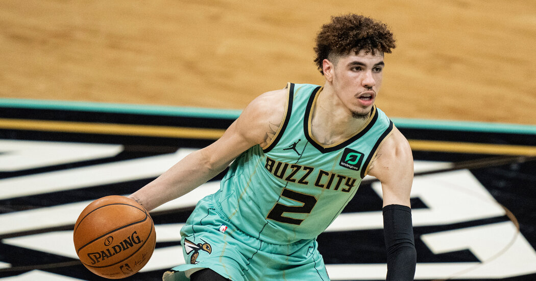Charlotte's LaMelo Ball Named N.B.A.'s Rookie of the Year