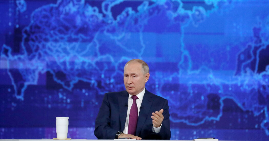As Covid Rages, Putin Pushes Russians to Get a (Russian) Vaccine