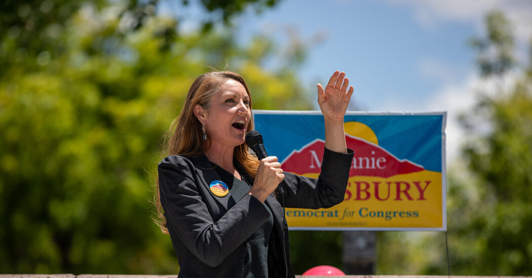 Melanie Stansbury, a Democrat, Cruises in New Mexico House Race