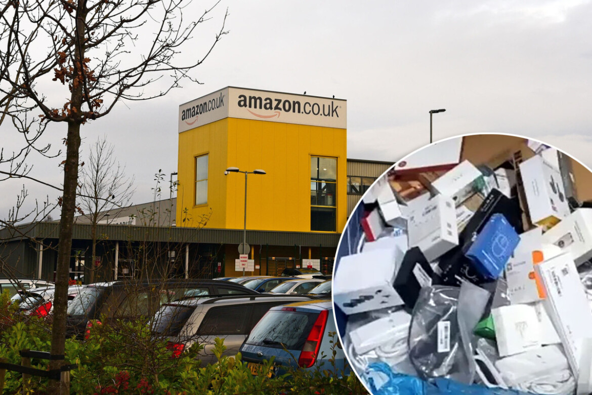 Amazon warehouse destroys 130,000 unsold items per week: report