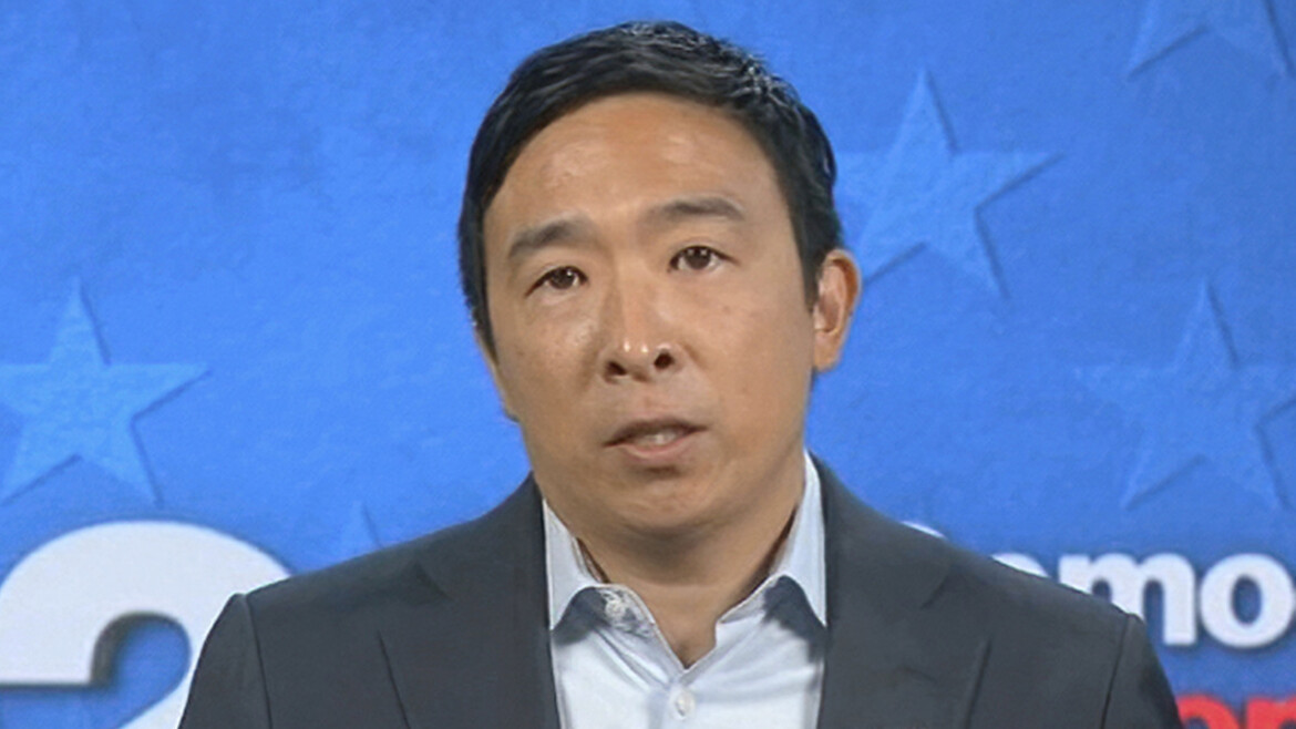 NYC mayoral debate: Andrew Yang only Dem candidate to say he wants de Blasio, Cuomo endorsement