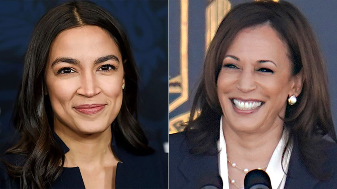 AOC calls Harris' immigration comments 'disappointing' as VP warns migrants 'do not come'
