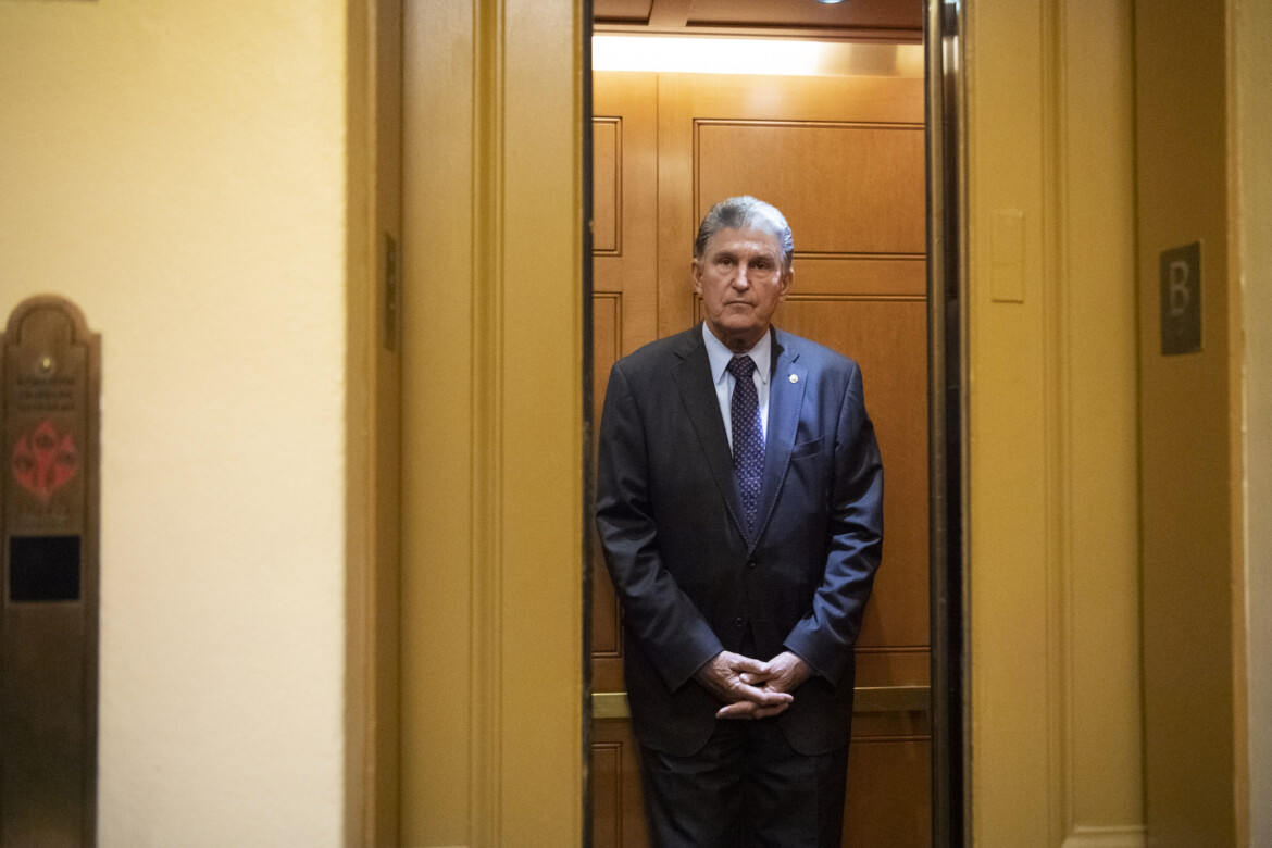 Manchin Won't Support Voting Rights Bill Because Republicans Don't Like It