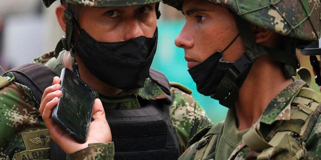 Colombia car bomb at military base injures at least 36