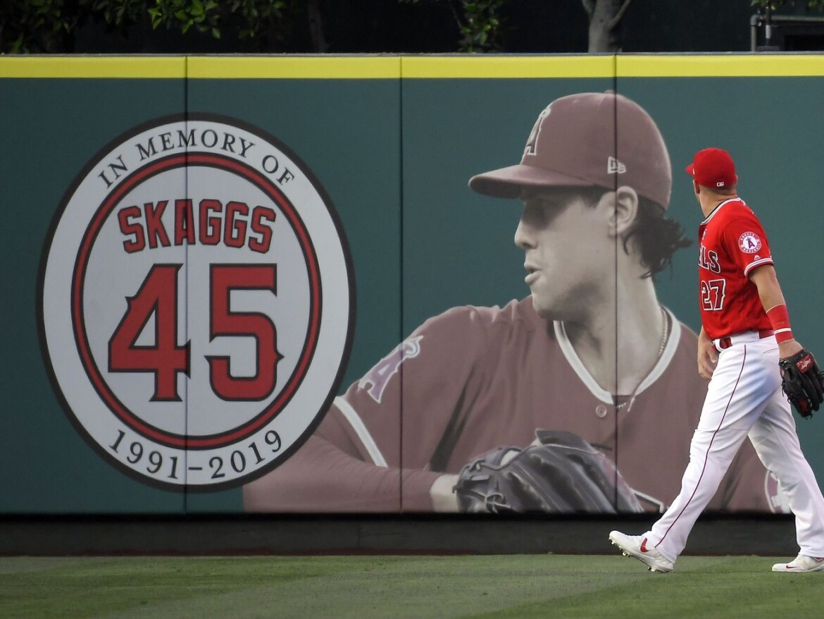Tyler Skaggs' family sues Angels for negligence over his 2019 drug-related death