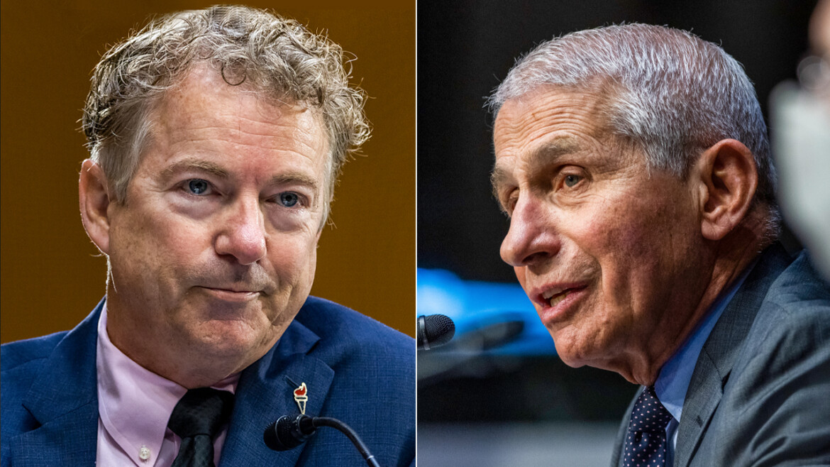 Rand Paul slams Fauci book as 'science fiction' after it is pulled from store websites