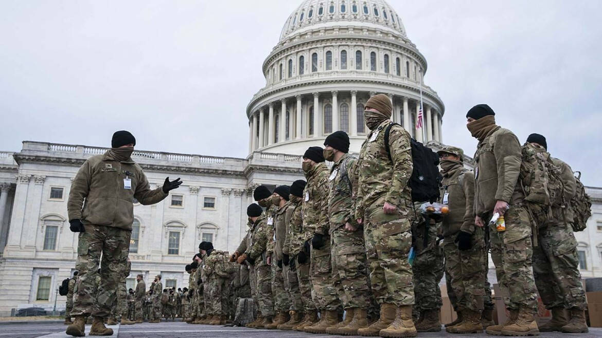 Biden wants to slash National Guard force size despite busiest year since WWII