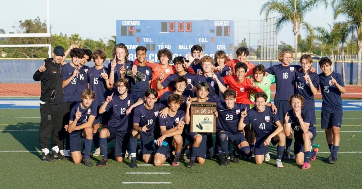 Crossroads High celebrates Southern Section and regional soccer titles