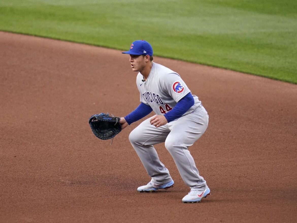 Anthony Rizzo back in the lineup for the Cubs after six-game absence