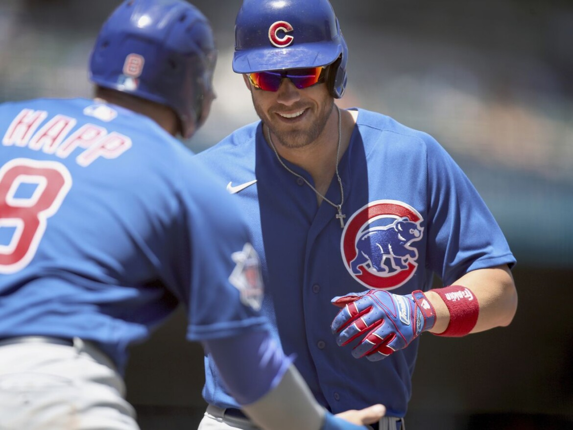 Gee Whiz! Cubs' rookie sensation Patrick Wisdom continues to amaze with two-homer game
