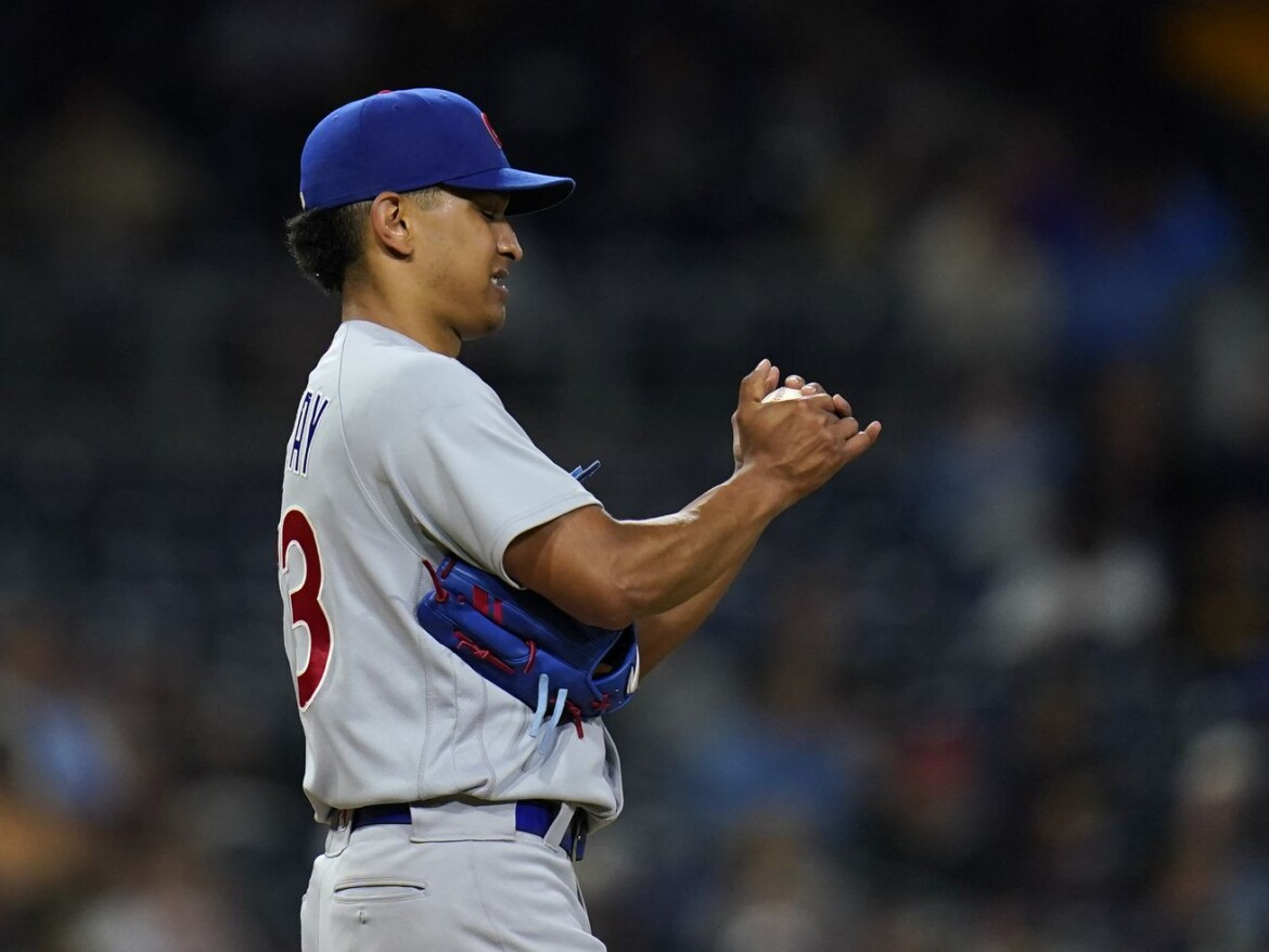 Cubs put RHP Adbert Alzolay on injured list with blister