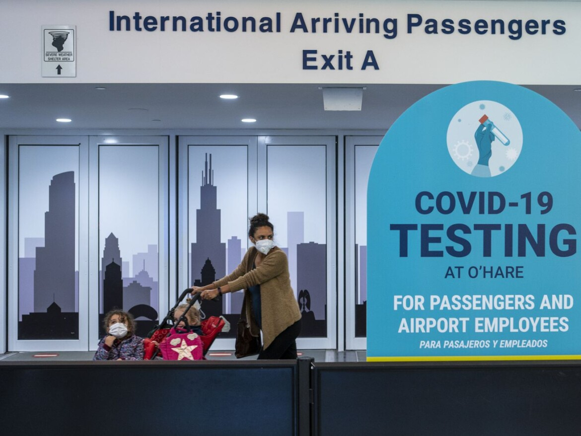 No states listed on Chicago travel quarantine order for first time