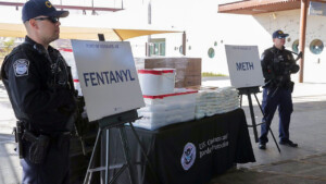 Fentanyl seizures at the border in May nearly 300% higher than last year
